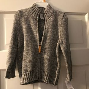 Carter's Zip toddler Sweater